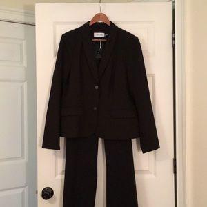 Calvin Klein Ladies Black Suit